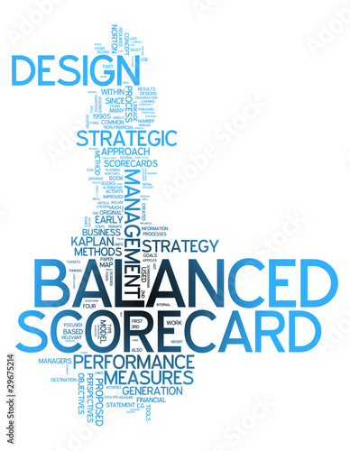 "Word Cloud ""Balanced Scorecard"""
