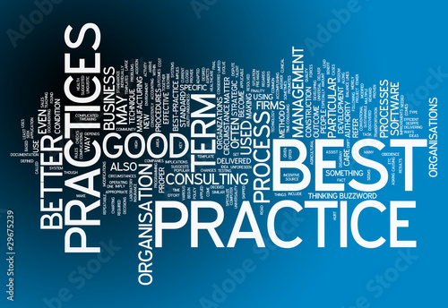 "Word Cloud ""Best Practices"""