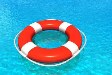Lifesaver in water