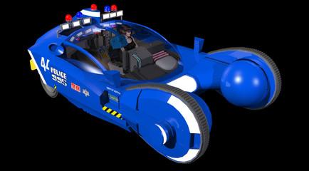 futuristic fliyng car spinner