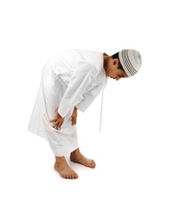 Arabic showing Muslim praying. look for another 15 photos