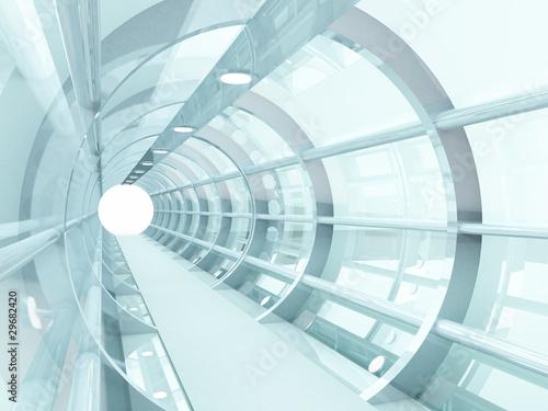 tunnel futuristic - 29682420