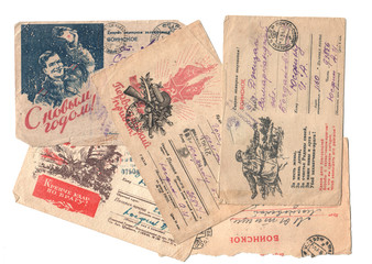 Военные письма. 1944 год. Просмотрено военной цензурой.