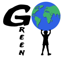 Go Green Boy