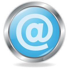 E-Mail Button blau