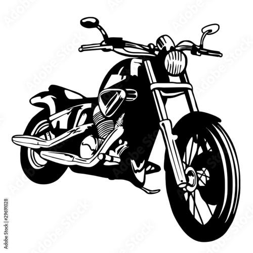 Fotobehang Motorfiets moto custom