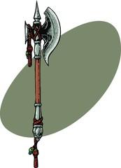 Fantasy axe