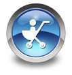 "Glossy Pictogram ""Stroller / Baby Transport"""