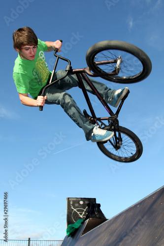 Flying BMX