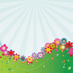 Flower background 5