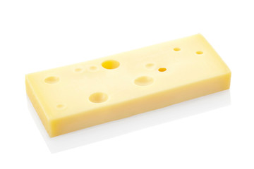 Swiss cheese portion