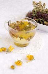 Herbal medical tea