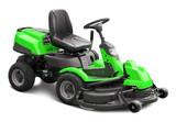 Green lawn mower