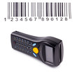 Electronic manual scanner of bar codes