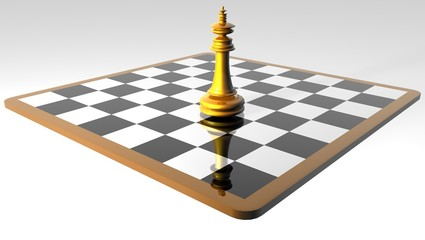 A chess game _ queen