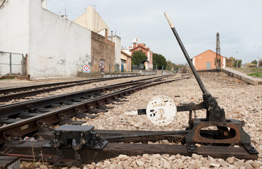 Railway switch
