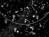 Astronomical Celestial Atlas (Fragment) poster