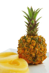 raw pineapple