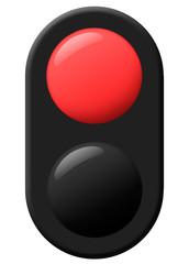 Traffic light Pedestrian Red