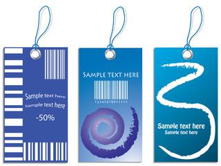 blue price tag