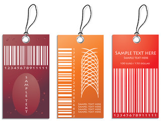 colored vector illustration of discount sale tag