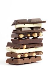Colonna di cioccolato