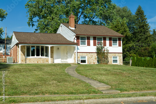 1960s Split Level Home Suburban Philadelphia