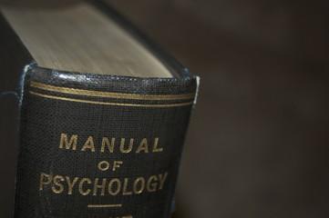 Old psychology manual