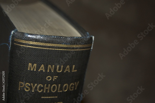 Old psychology manual