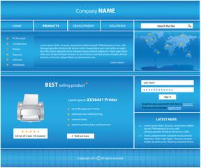 special website template