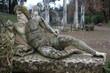 statues at Villa Adriana - Tivoli