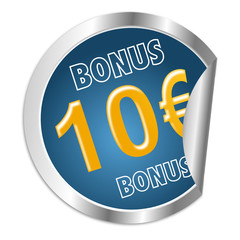 Button 10 Euro Bonus