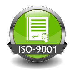 ISO 9001 Button