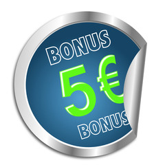 Button 5 Euro Bonus