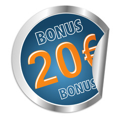 Button 20 Euro Bonus