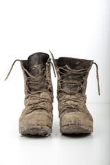Schmutzige Schuhe