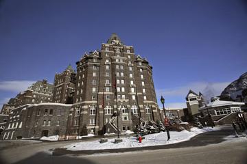 Banff Springs Hotel in Alberta Canada