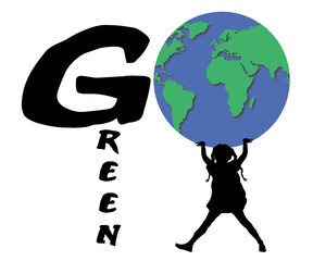 Go Green Girl