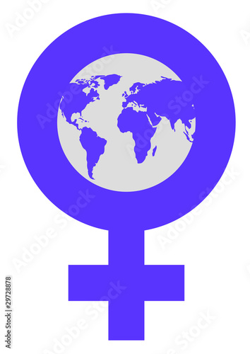 Women's World Symbol