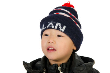 Chinese Dutch boy