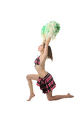 Girl cheerleader