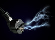 Electric discharge.