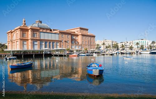 Papiers peints Opera, Theatre Margherita Theatre. Bari. Apulia.