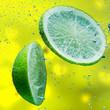 Leinwanddruck Bild - fruit splash