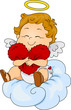 Baby Cupid Pillow