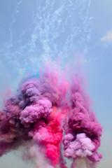 colored smoke