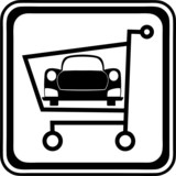 car in the cart