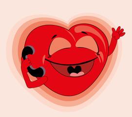Vector illustration. Heart