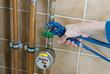 plumber water clock