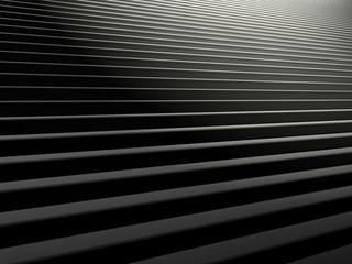 Treppenstufen mit Lichteinfall